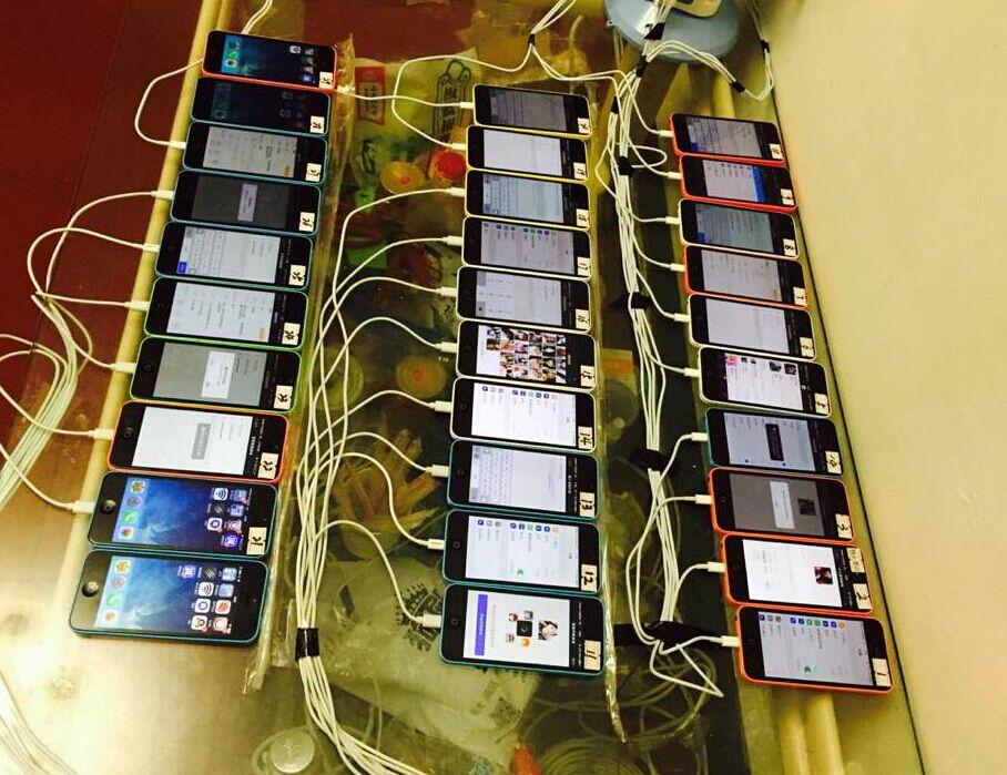 iPhones Charging